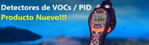 Detector de Gases VOCs PID